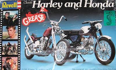 Nostalgia On Wheels Revell Grease 2 Panhead Model Kit