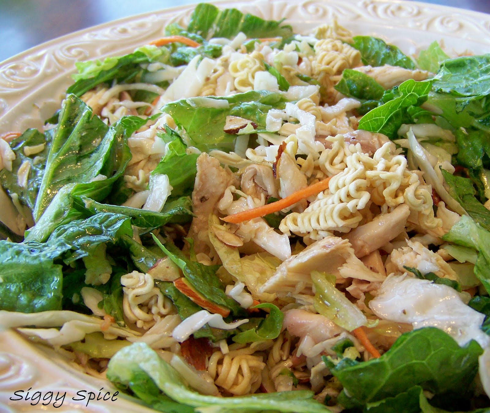 Siggy Spice: Asian Chicken Salad