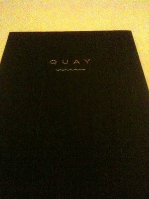0menu Quay Restaurant