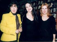 Με τις Αναστασία Καλλιοντζή και Μαρίνα Αλεξάνδρου