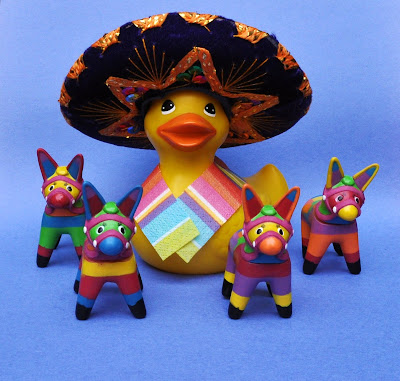 CInco de Mayo Rubber Duck