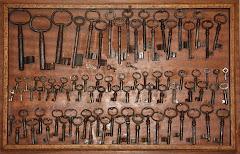 As chaves da familia...