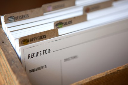 Recipes Boxes Cards Box And Cute Recipe Cards