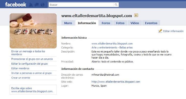 ¡únete en facebook!