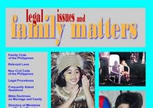 title graphics Family Matters website 