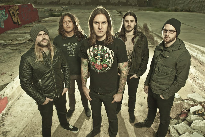 as i lay dying the powerless rise band