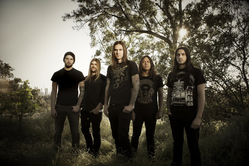 as i lay dying the powerless rise band members