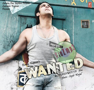 Wanted  2009  Hindi Movie Mp3 Audio Songs 128Kbps   320Kbps   Rm   AAC    Wanted 2009