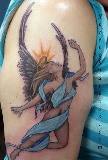 Angel Tattoos Design