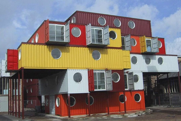 Unsweet mama container house - Container home construction ...