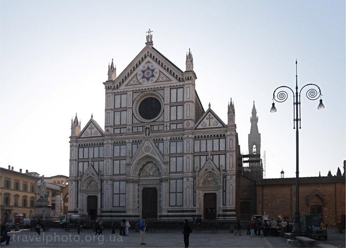 Флоренция, базилика Санта Кроче