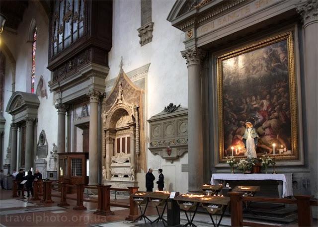 Флоренция, церковь Санта Кроче