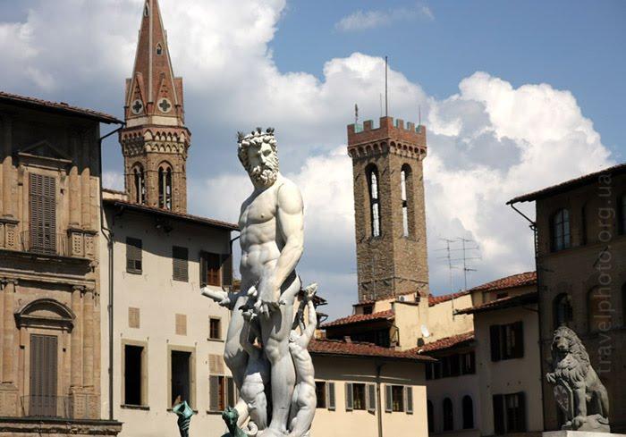 Достопримечательности Флоренции, Площадь Синьории.