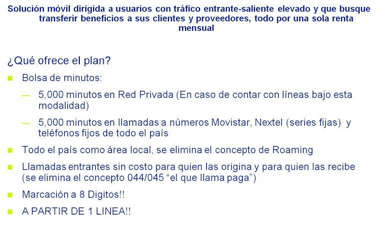 Plan Platino de Telefonica Movistar (se requiere RFC expedido por hacienda)
