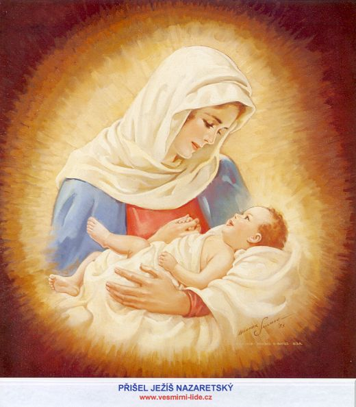 Jesus+and+mama+mary+image