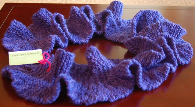 Potato Chip Knitted Scarf Pattern : Things Alice wants to do...: Potato Chip Scarf in Paradise