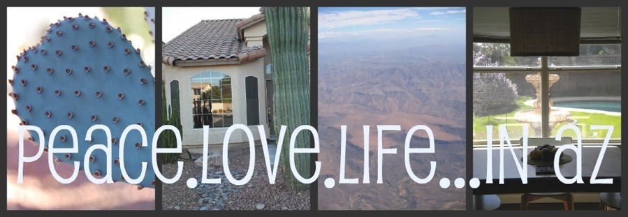 Peace.Love.Life...in AZ