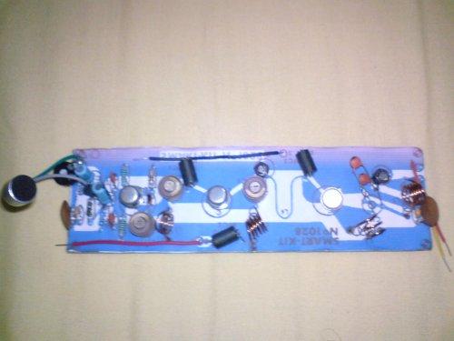 Transmissor de FM com 2N3553 (4 Watts de potência)