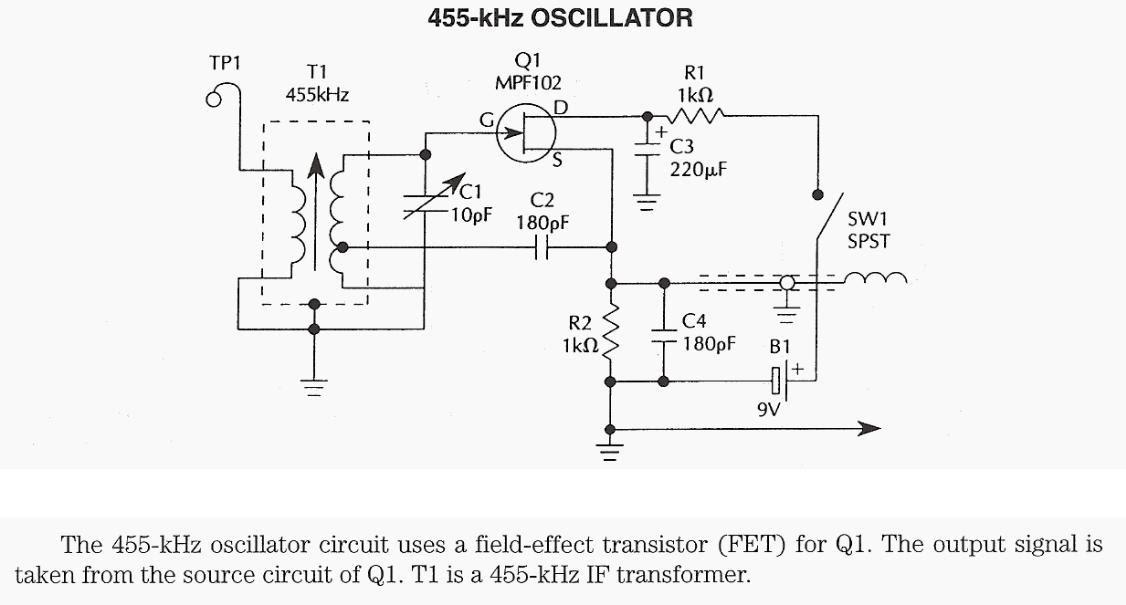 193 Rea Rf Oscilador 455 Khz