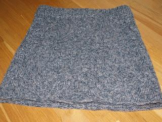 strik nederdel til børn