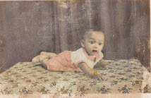 Seven months old me.