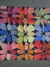 Kathy Sandling's Flower Power Quilt!