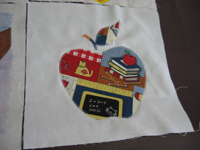 Apple Quilt Retirement Gift