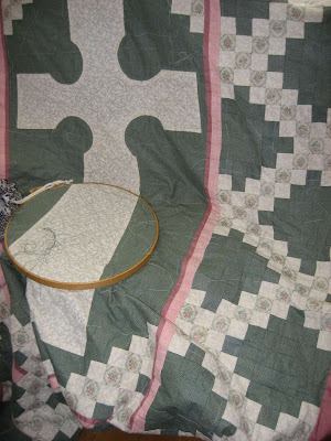 Hand Pieced Celtic Quilt