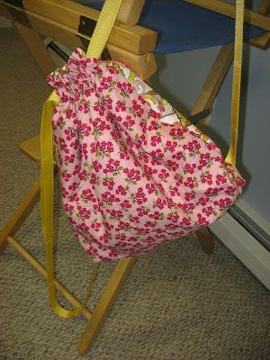 Pink Lemonade Cinch Sack Giveaway