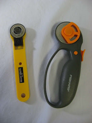 Fiskars 45mm Rotary Cutter - my new favorite gadget