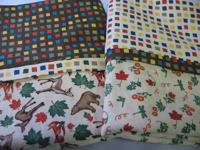 More stash busting ~ Pillowcases for charity
