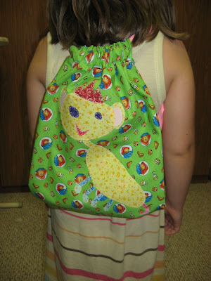 Gracie's Cinch Sack ~ complete!