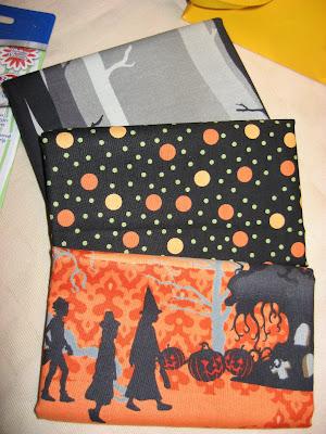 Halloween Tote Bag swap gifts