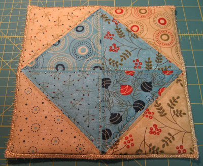 Easy Quilted Christmas (or anytime) Hotpad
