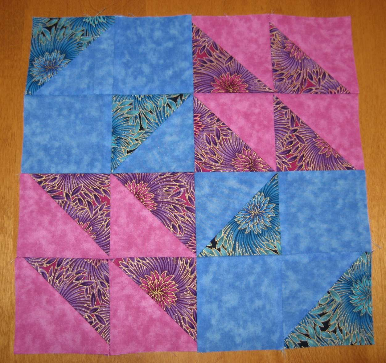 Layer Cake Quilt Along : Hooked on Needles: Layer Cake Quilt-Along Block Two