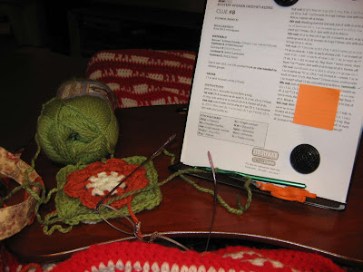 Lap desk for needlework