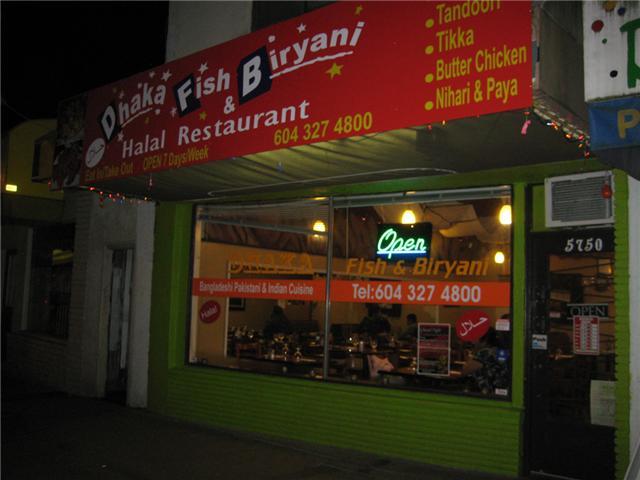 Dhaka Fish Biryani Halal Restaurant