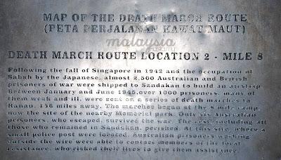 Sandakan Death March Route