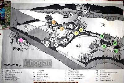 Map of Monsopiad Cultural Village
