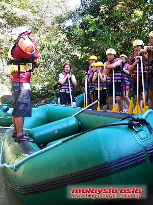 Kampar River White Water Rafting Perak