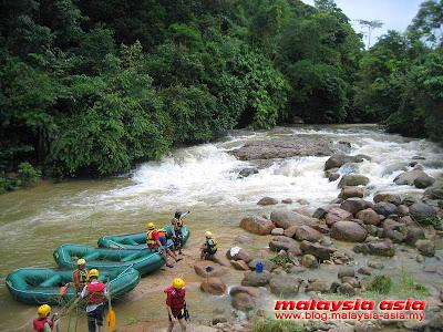Slim River White Water Rafting Perak Videos