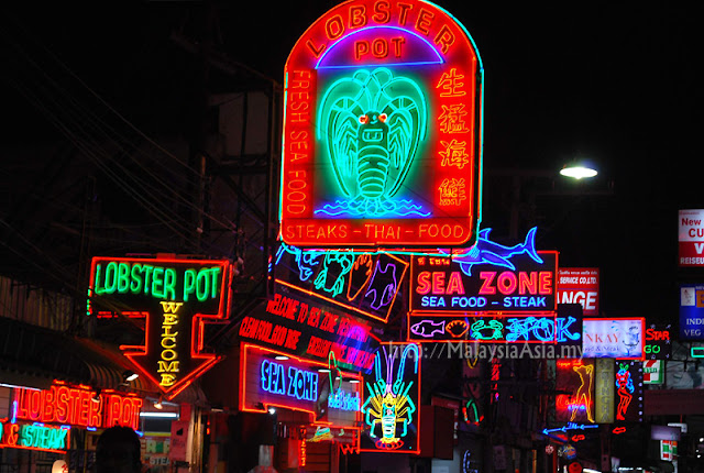 Pattaya Walking Street Thailand