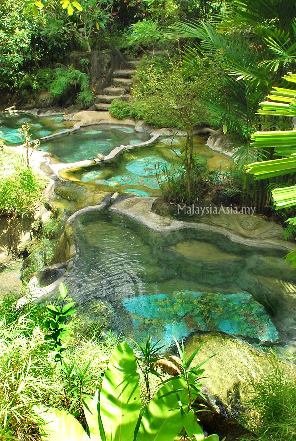 Hot Spring Spa in Krabi, Thailand
