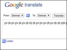 Musica con Google traductor