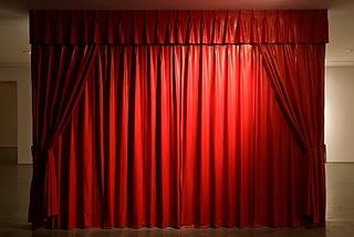 las cortinas rojas - Cortinas Rojas