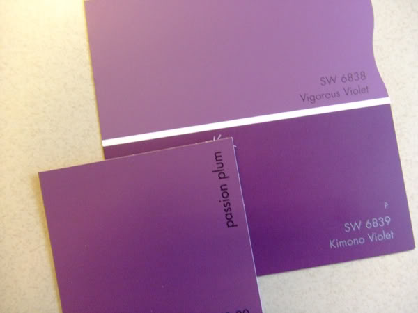 Shades Of Purple Paint Glamorous Of Different Shades Purple Wall Paint Photo