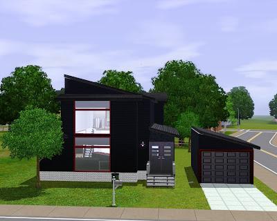 Nice Homes For Sims 3 Bachelor Pad Furnished 44 198
