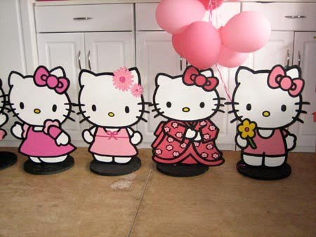 Sweet As A Gumdrop Hello Kitty Decorations