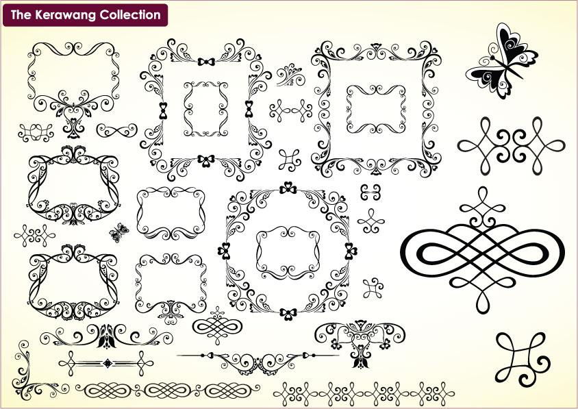 Corak Bunga Krawang | Joy Studio Design Gallery - Best Design