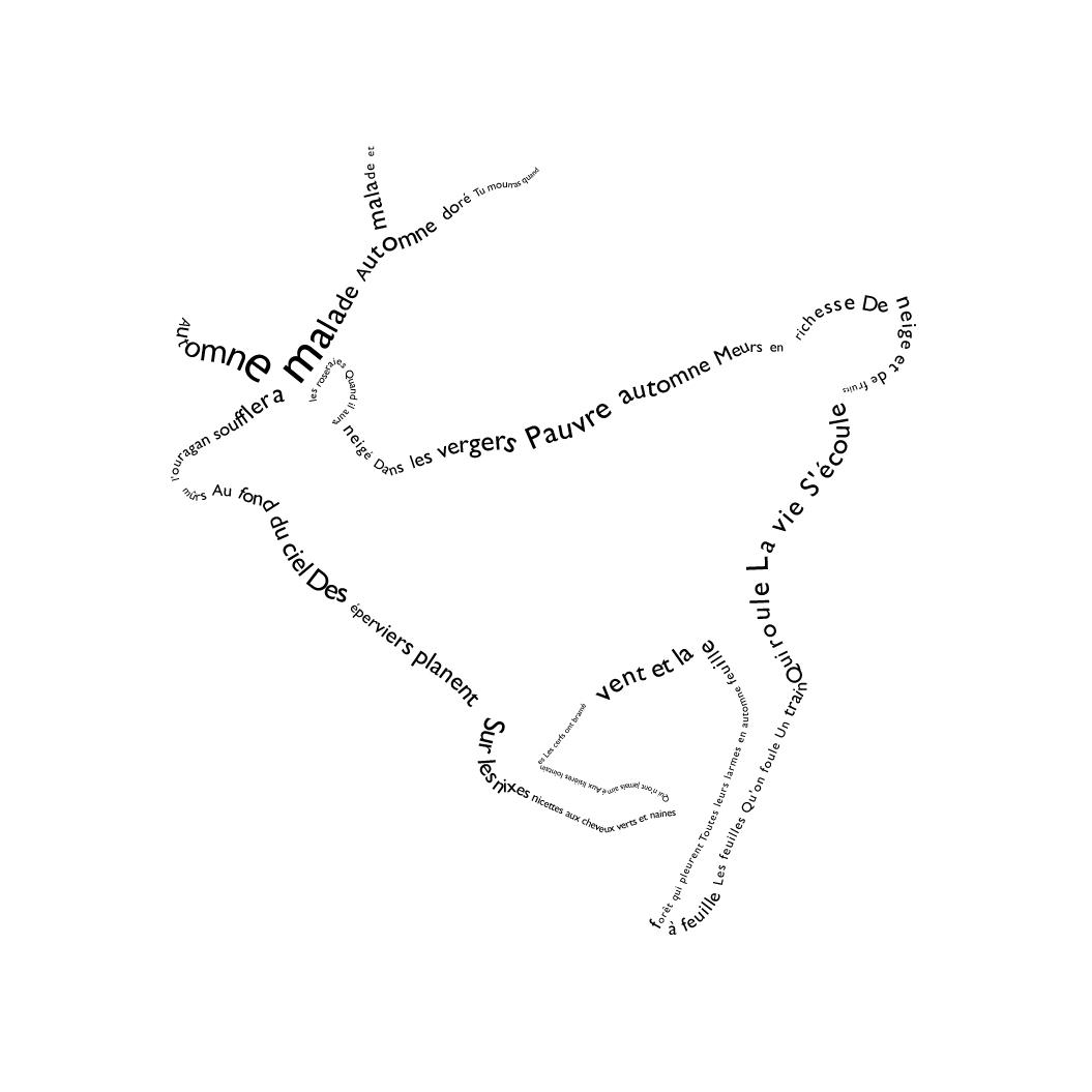 catherine lepicard u0026 39 s portfolio  calligrammes
